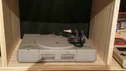 Vídeo game PlayStation 1 FAT desbloqueado