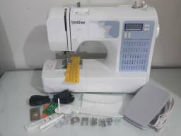 Máquina de costura eletrônica Brother CE 5500 Patchwork