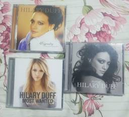 CDs Hilary Duff - Dignity, Most Wanted e Best of Hilary Duff