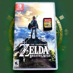 Cartucho Zelda - Breath of the Wild - Nintendo Switch - Impecável