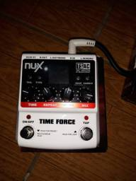 Pedal time force delay