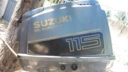 Motor de popa 115 hp Suzuki