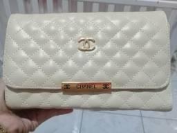 Kit 2 bolsas(LV e Chanel)+ relógio CK