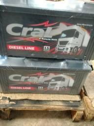 Bateria Cral 170 amperes Caminhão