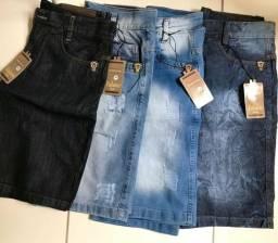 Bermuda Jeans a vista ou cartão