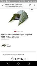 Barraca camping trilhas e rumos 6