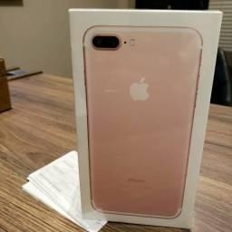 IPhone 7 Plus 32GB ROSE,4G Lacrados,Nota+01 Ano Garantia