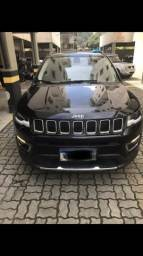 Jeep Compass Limited c/ teto solar - TV FULL HD - IOS/ Android - 2017