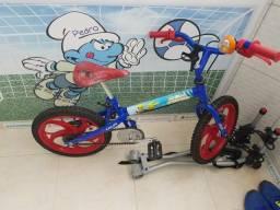 Bicicleta infantil caloi aro 16 spider man