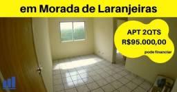 JG. Apartamento de 2 quartos em Morada de Laranjeiras: Condomínio Cooplares