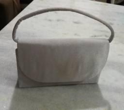 Bolsa de mão prata 4cda3c57b1d89