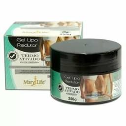 Kit 16 Gel Massagem Lipo Redutor Mary Life