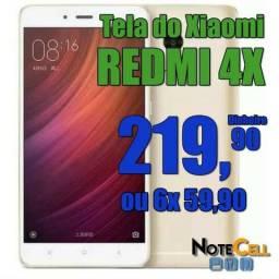 Tela do Xiaomi Redmi 4x