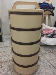 Kit de 5 marmiteiras tekcor