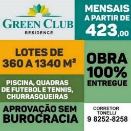 52 - Green Cub Residence - Lotes em condomínio fechado - Pronto