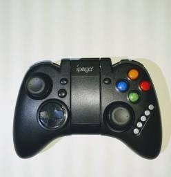 Controle Gamepad Bluetooth Smartphone Android Ipega-9021