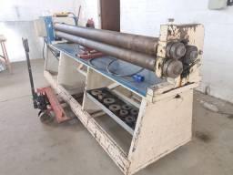 Calandra elétrica 2,50m / 03 rolos 150 mm