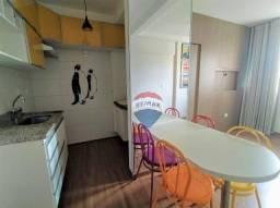 Alugo apartamento de 1 quarto em Águas Claras com armários, lazer completo e vaga