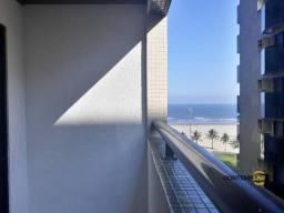 Apartamento com 2 dormitórios vista mar para alugar, 63 m² por R$ 2.900/mês - José Menino