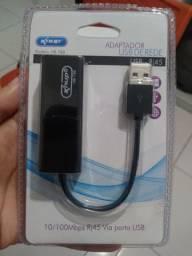 Cabo USB de rede