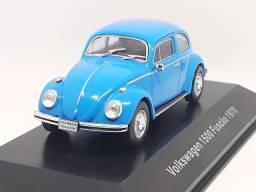 Miniatura Fusca 1500 (1970) escala 1/43