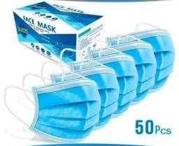 Máscara descartável tripla e KN 95