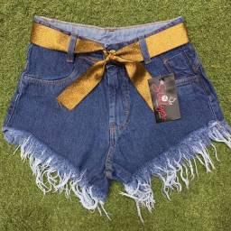 Kit  shorts jeans feminino com 10 unidades  envio fácil  pela etiqueta  olx.
