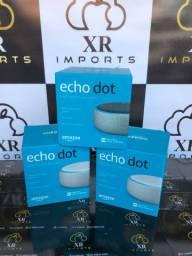 Alexa Echo Dot 3º geração lacrado