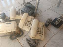 Lote telefone tudo por 100