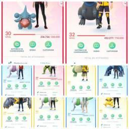 Pokemon go contas de varios niveis