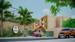 GF-Localização privilegiada em Camaragibe, 2 quartos,varanda e elevador