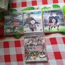 Vendo 4 jogos de play 3