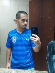 Camisa Brasil Azul