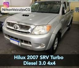 Hilux 2007 CD SRV 3.0 Turbo Diesel 4x4 Altomatico