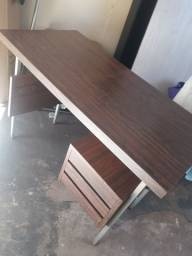 mesa de escritório fórmica 1.00x050cm