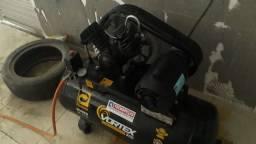 Compressor novo 140 libras usado apenas 6 vezes