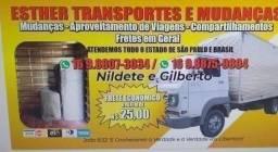 Valor Acessível: Caminhão Baú INDO VÁZIO de São Carlos para são Paulo; .....