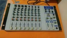 Mesa de som de 8 canais