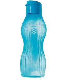 Garrafa Eco Tupper Plus Freezer 750ml (Disponível nas cores Rosa Glacê e Azul Acqua)