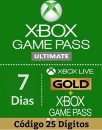 Game Pass Ultimate + Live Gold 7 Dias - Envio Imediato! CÓDIGO 25 DIGITOS