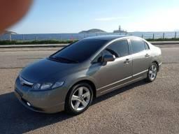 Honda Civic LXS 2008- Bancos de couro- Farol de milha-Lindo carro!