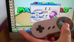 Controle Usb Tipo Super Nintendo