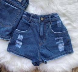 shorts jeans feminino no atacado