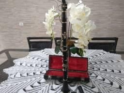Clarinete Sib Francesa Lefêvre A Paris Ébano 13 chaves