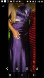 Vestido Roxo de festa