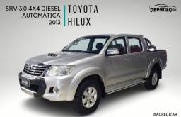 TOYOTA HILUX SRV 3.0 4X4 DIESEL AUTOMÁTICO 2013