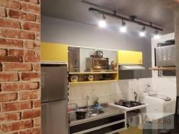 Apartamento com 2 dormitórios à venda, 49 m² por R$ 190.000 - Chácaras Fazenda Coelho - Ho
