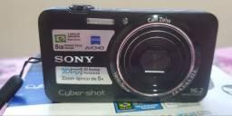 Câmera Digital Sony Cyber-shot DSC-WX7 Preta com 16.2 MP