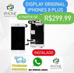 Display IPhone 7 Plus / 8 Plus Original  Apple (Instalado )
