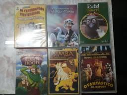 15 DVDs Infantis